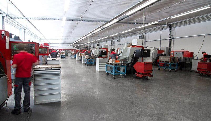 Maschinenpark HOGA