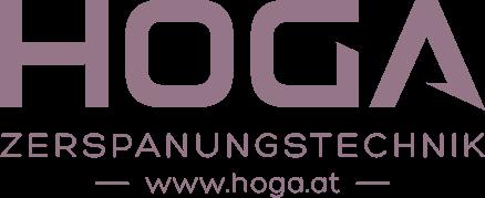 HOGA Zerspanungstechnik GmbH – Zulieferteile – Maschinenbau – Fräsen – Drehen – Stanzen – CNC Logo